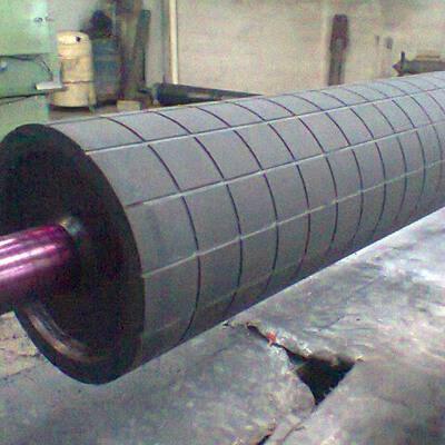 Revestimento de borracha para cilindros